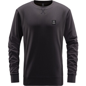 Haglöfs H Crew Neck Trui Heren, true black